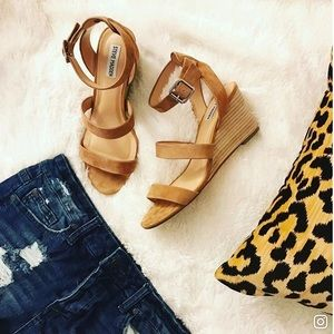 Steve Madden Caley Wedge Sandals